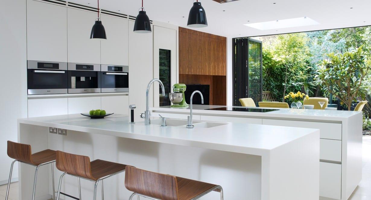 Bush double kitchen island concept