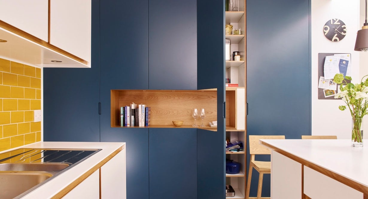 Moulds bold cabinet designs from the kitchen concept