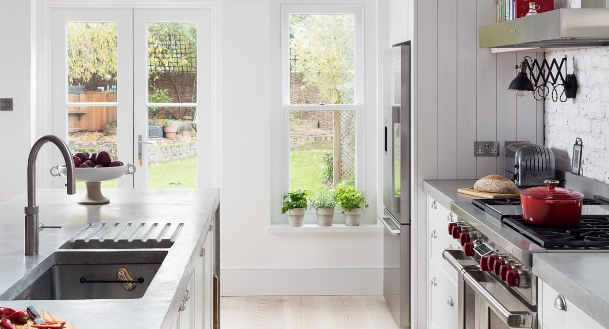 Woodlands farmhouse kitchen concept