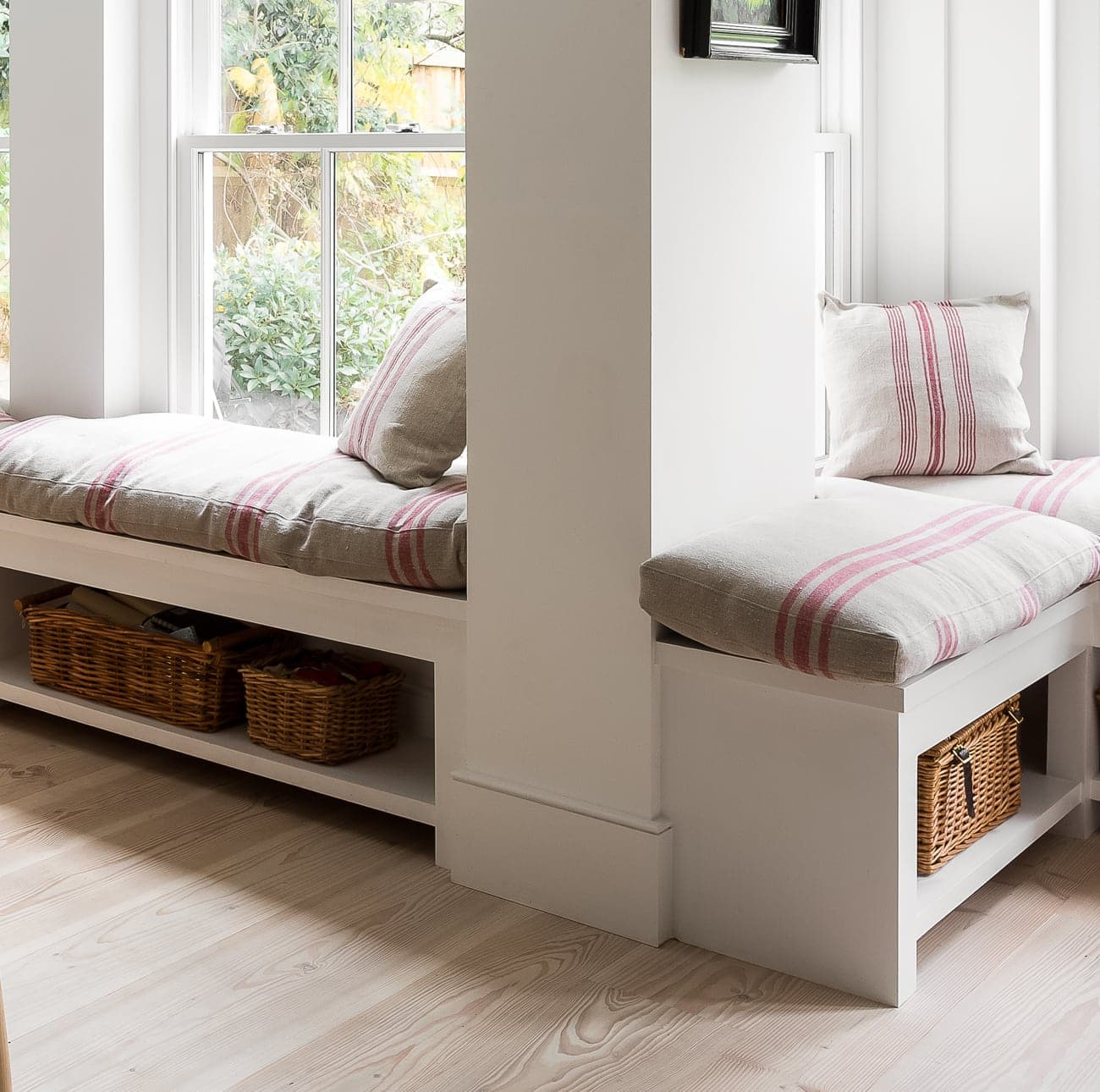 Window seating and storage