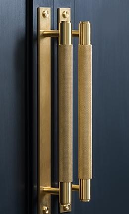 Ludlow brass handles