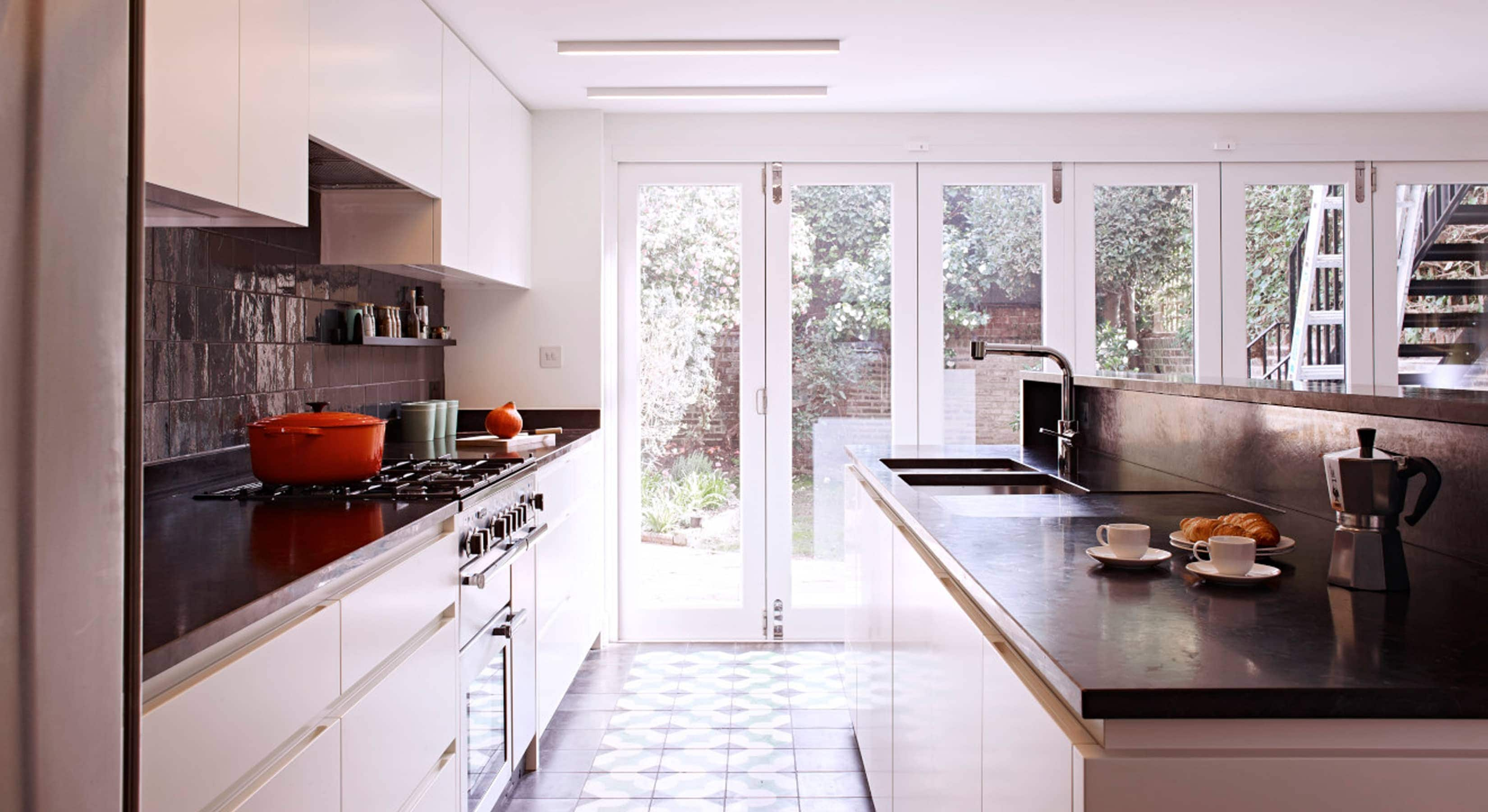 Classic kitchen concept with island