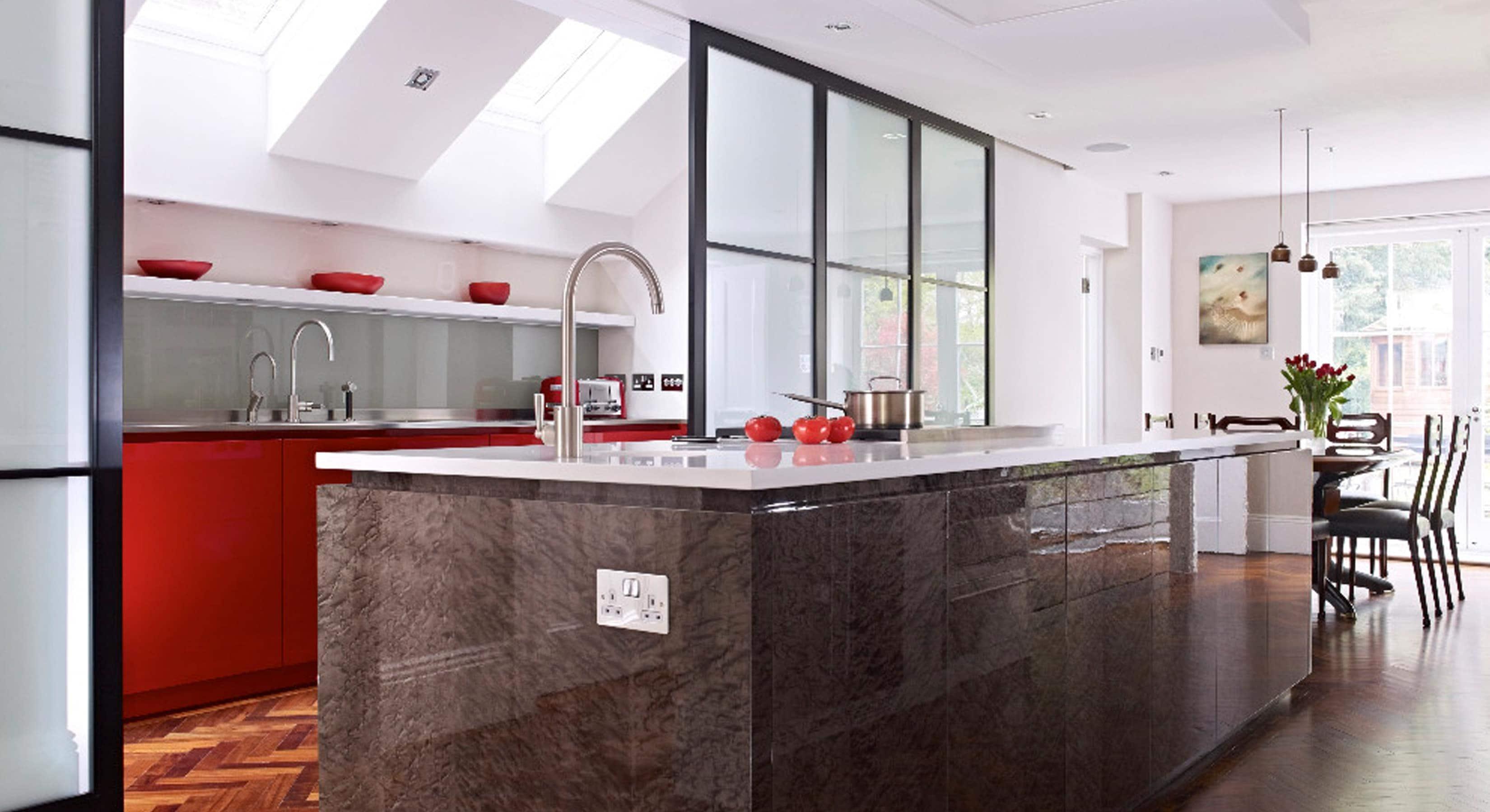 Matt kitchen extension concept