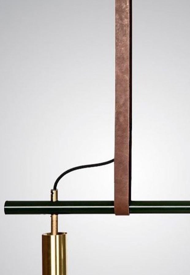 Industrial lighting frame