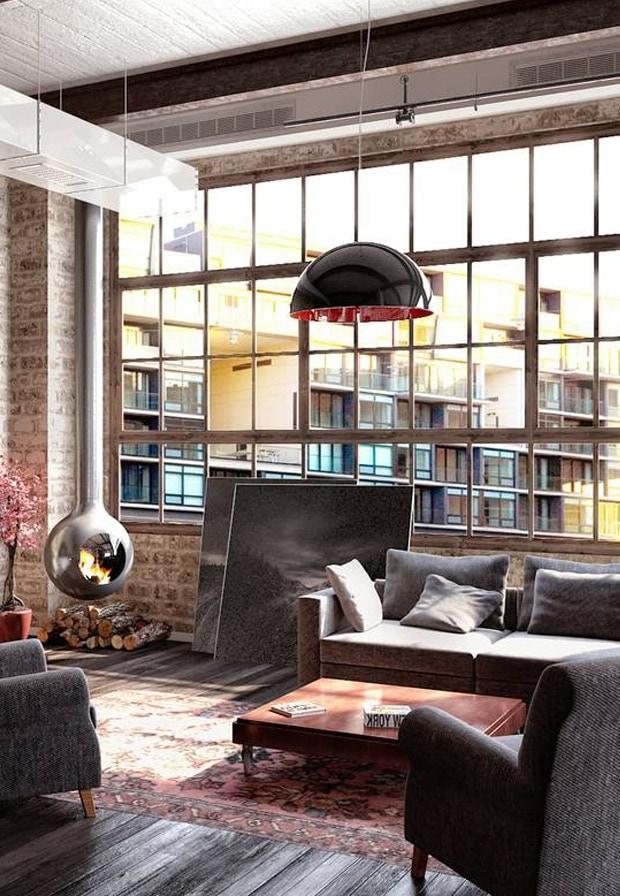 Apartment lounge concept