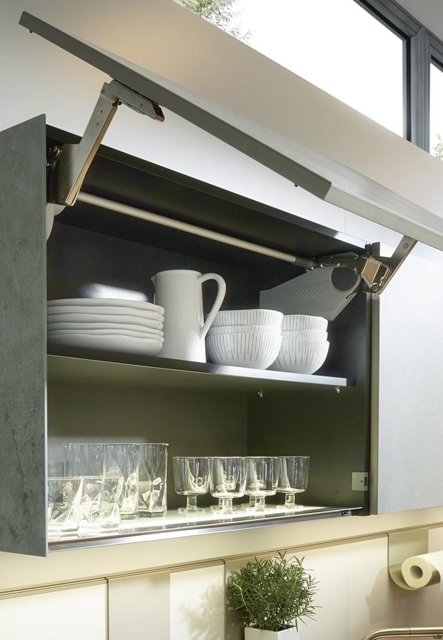 Contemporary cupboard organisation