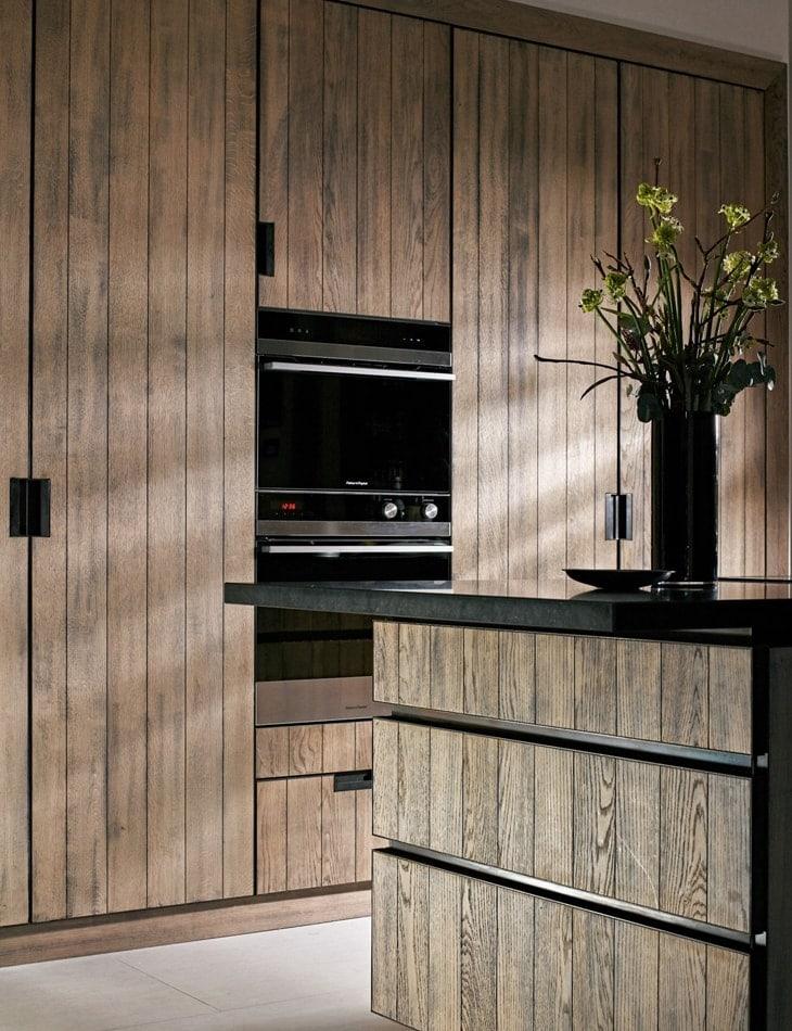 Wood kitchen concept