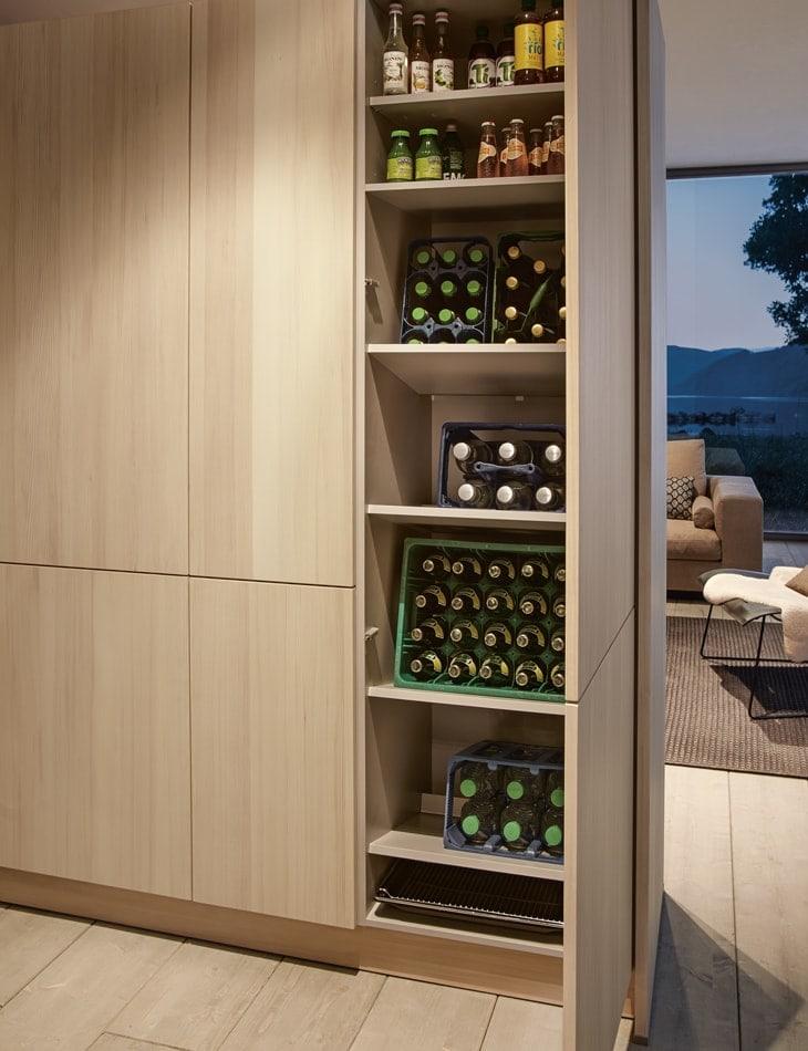 Contemporary storage shelving