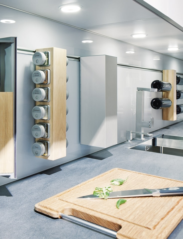 Contemporary storage options