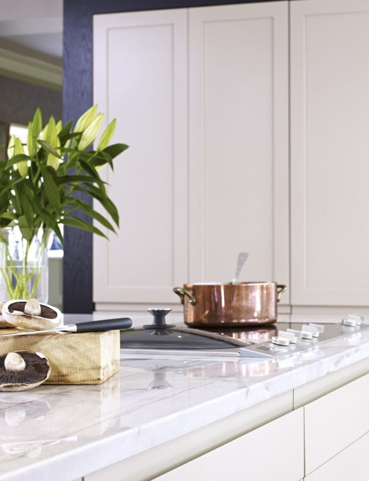 Shaw electric hob kitchen extension concept