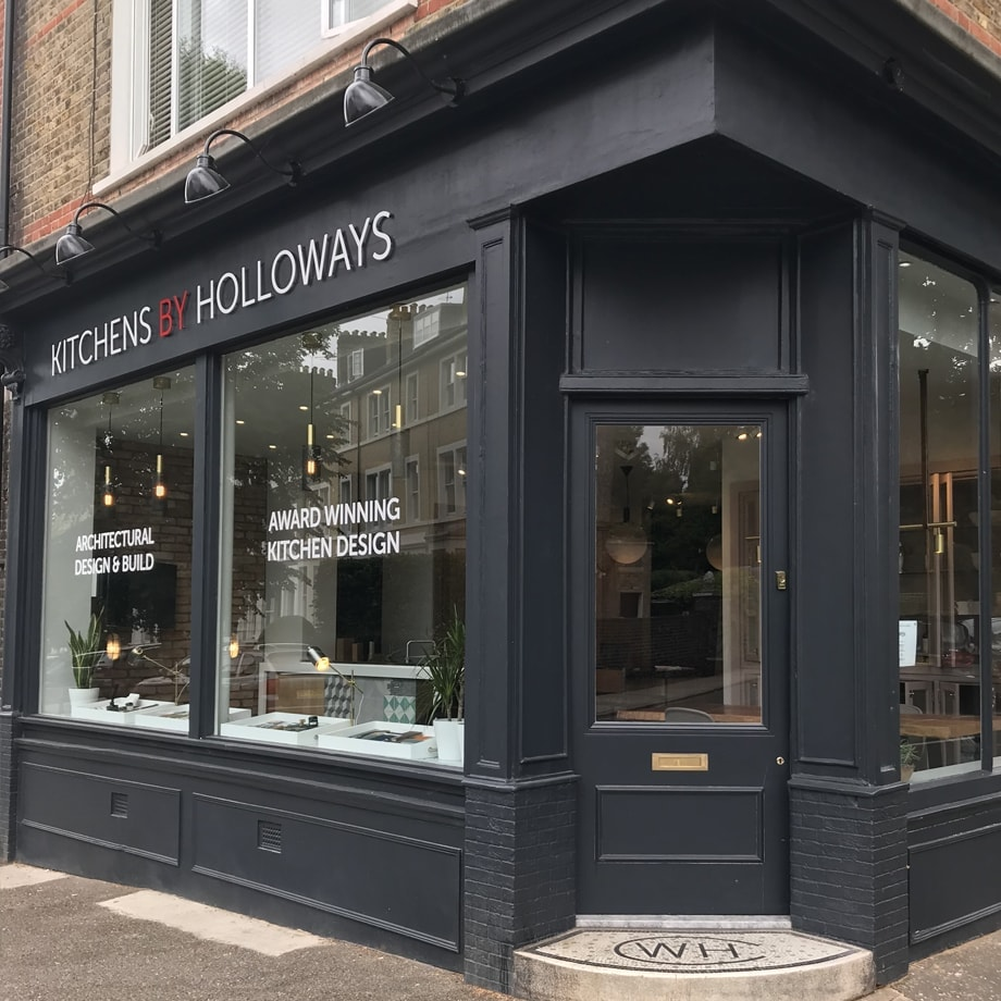 Kitchens by Holloways showroom