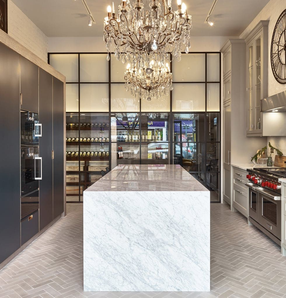 Broseley marble kitchen concept
