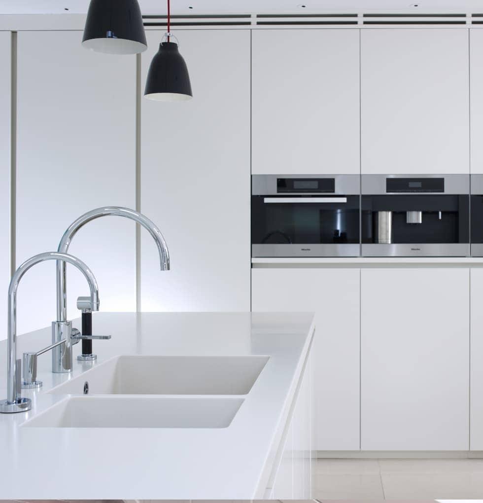 Bush double kitchen sink concept
