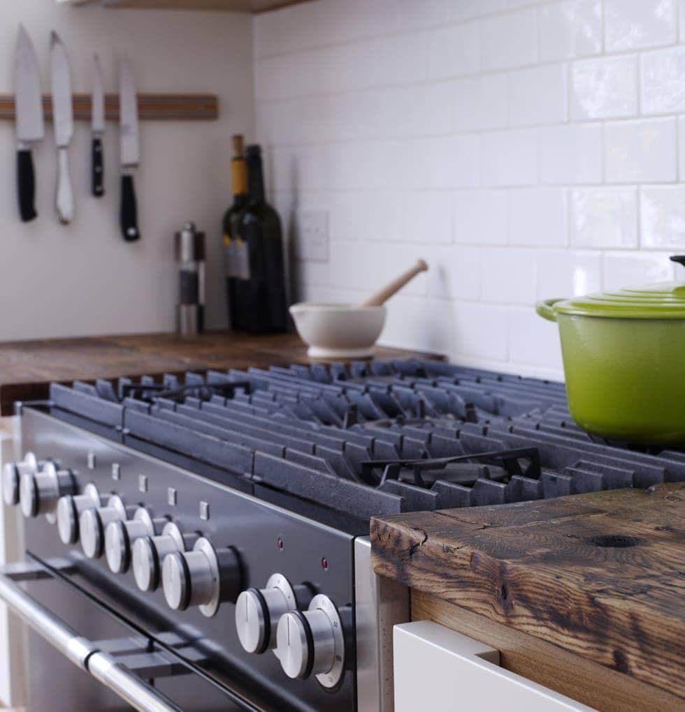 Heritage gas hob kitchen concept