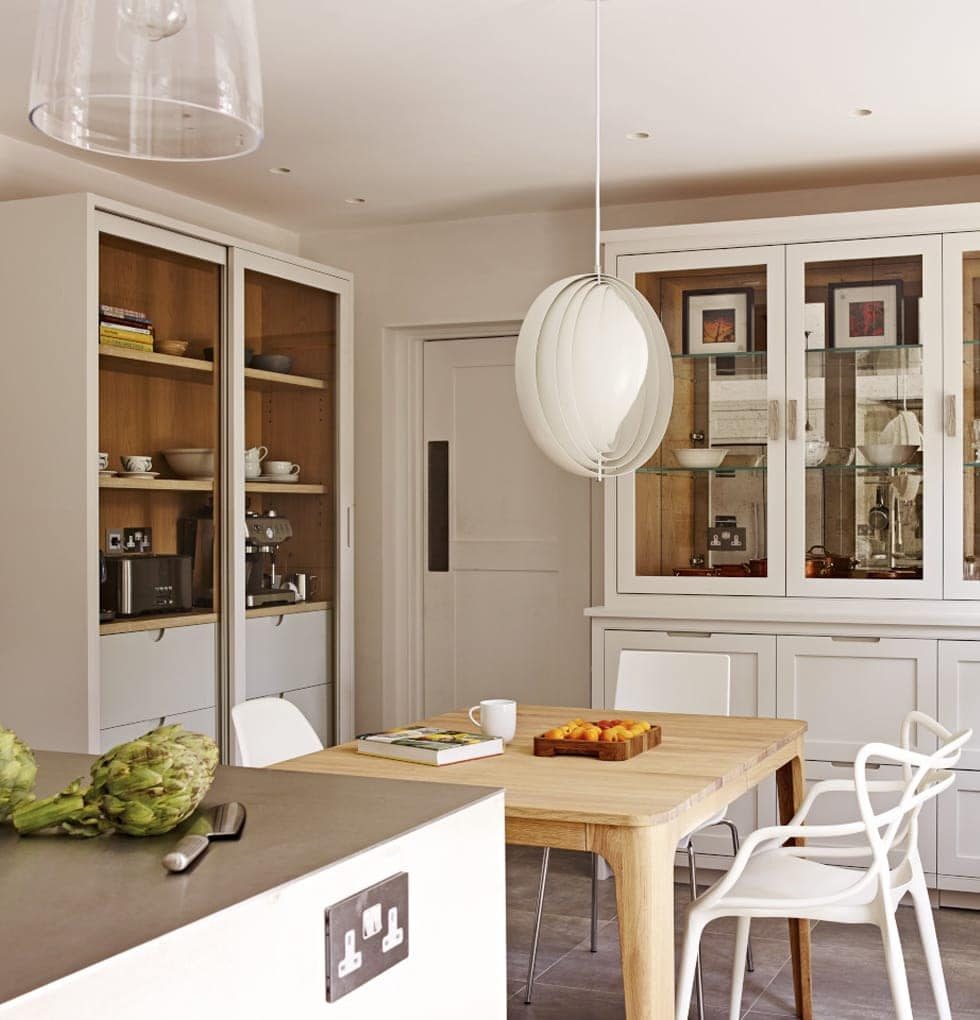 Heritage kitchen extension dining area