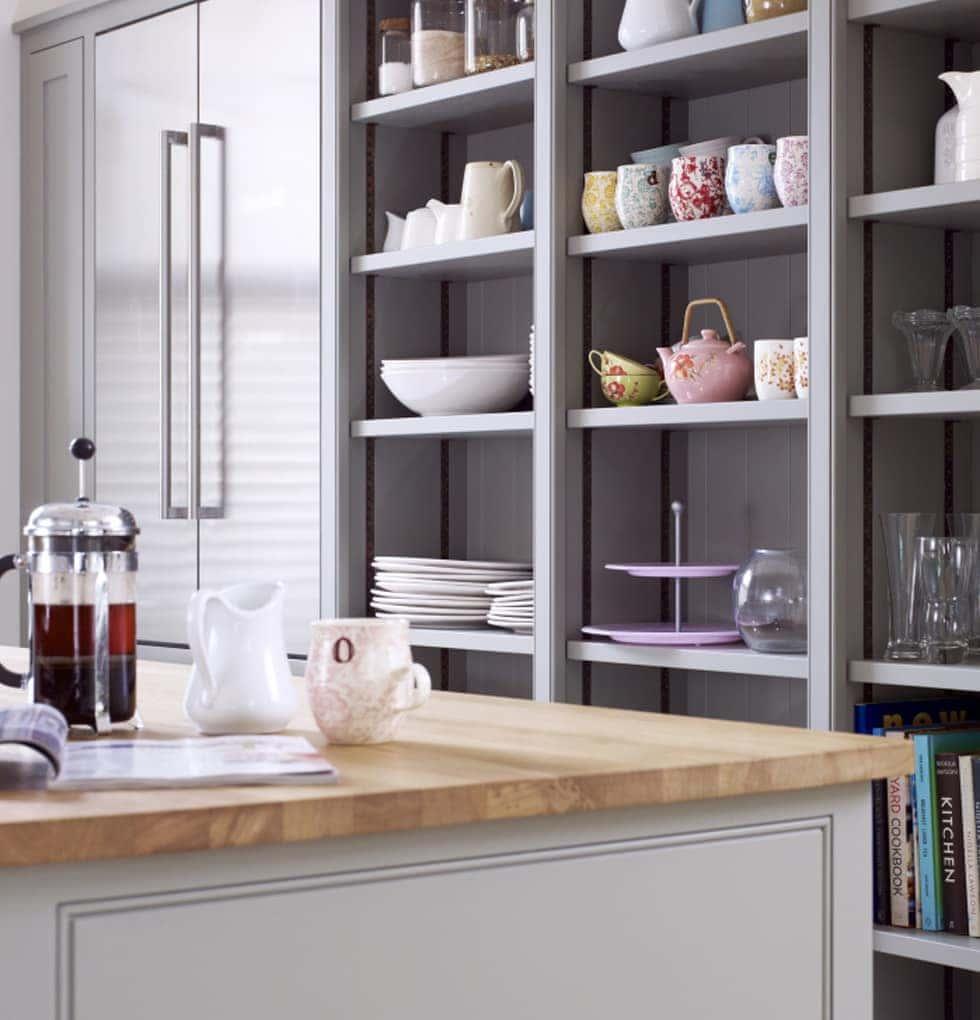 Heritage kitchen shelving concept