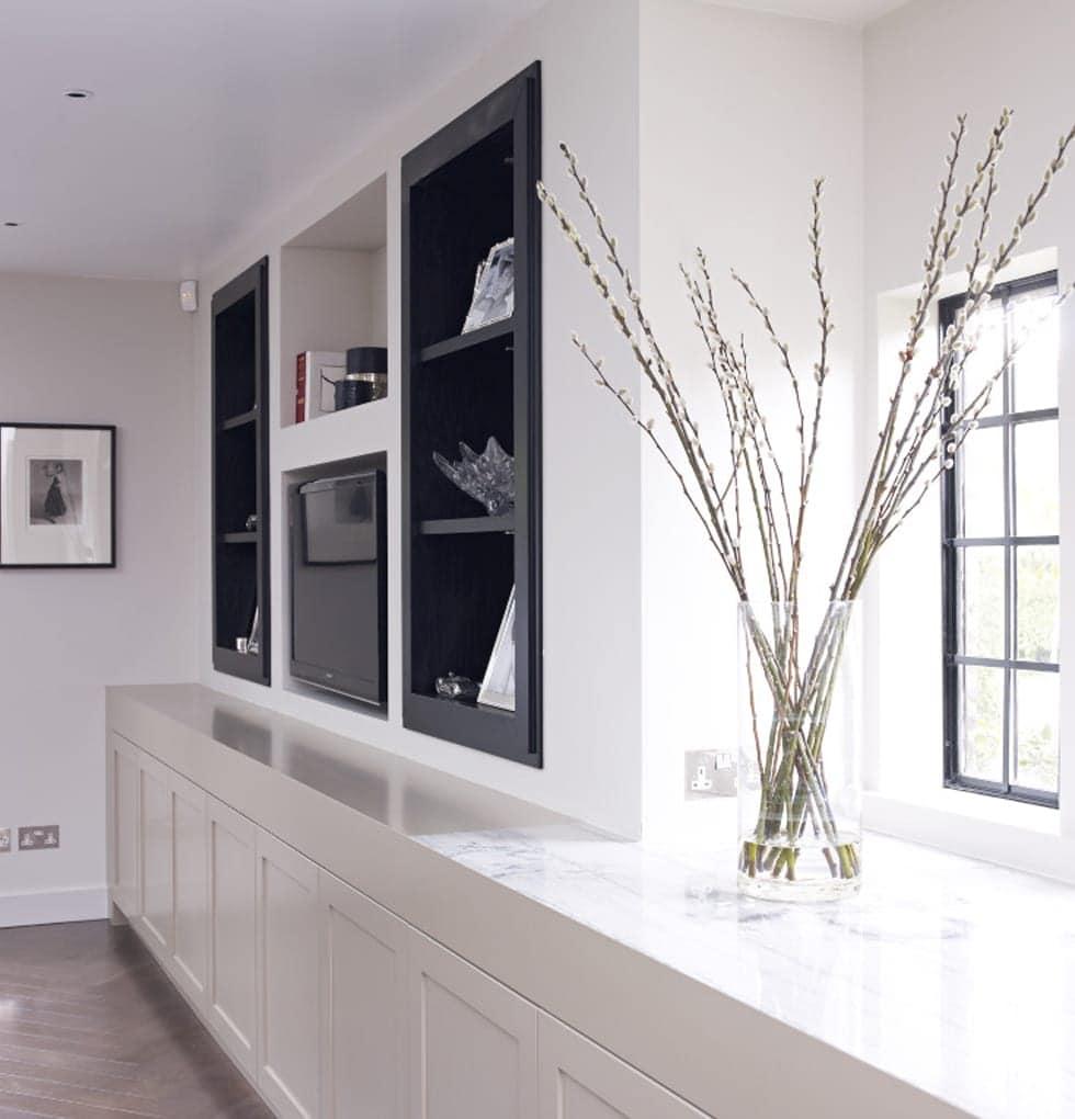 Shaw kitchen storage and tv concept