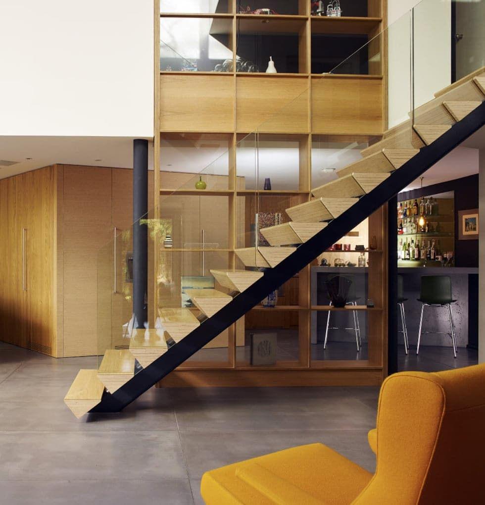Uplands feature staircase concept