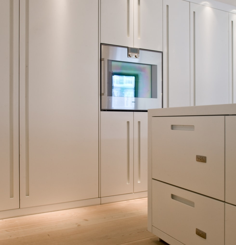 Westbourne raised and integrated oven concept