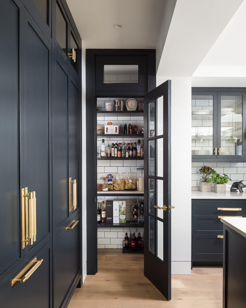 The Lowther concept pantry with white wall tiles
