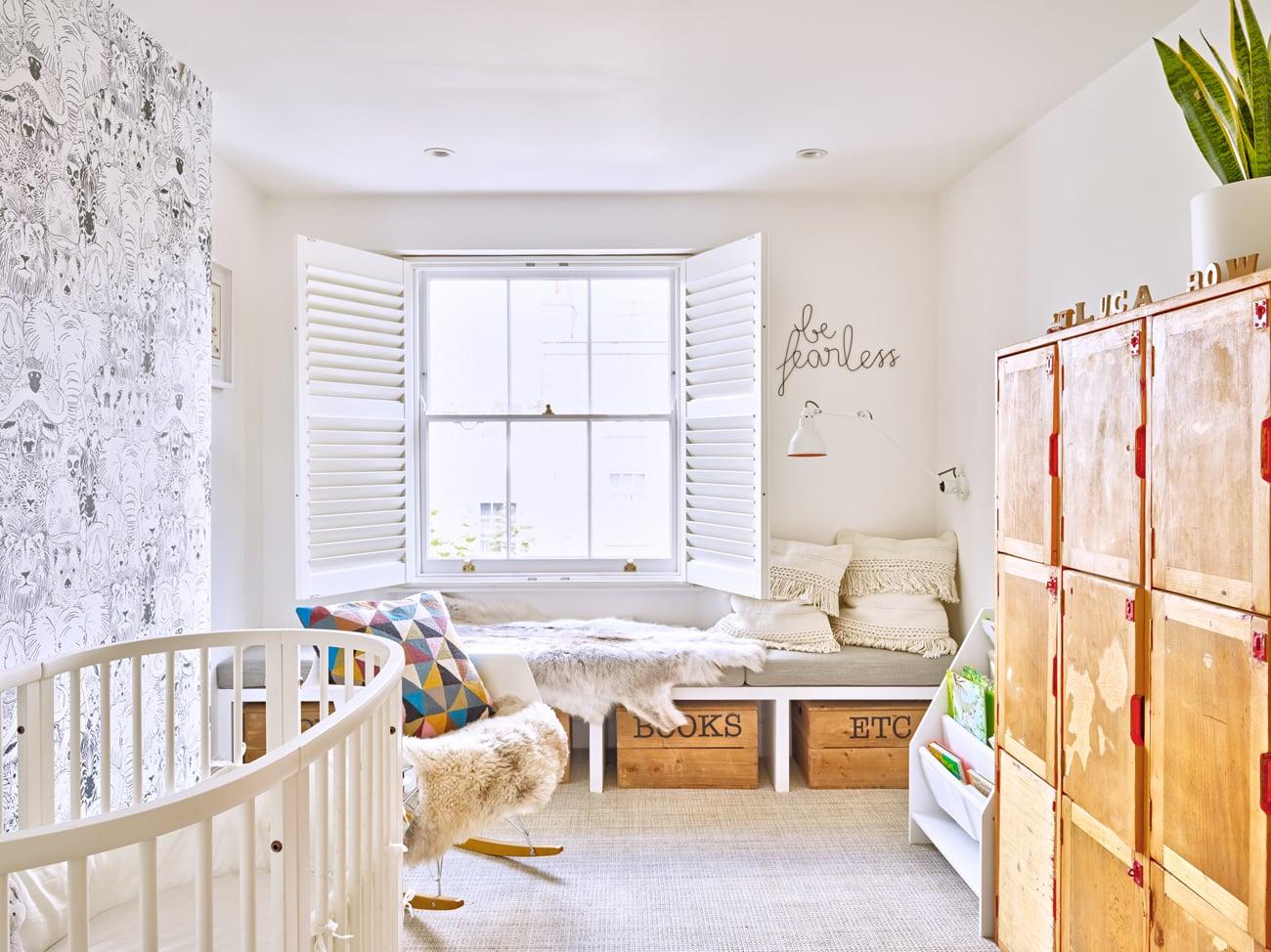 Rustic bedroom concept