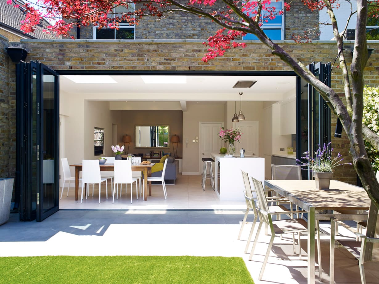 Pike style open-plan kitchen extension