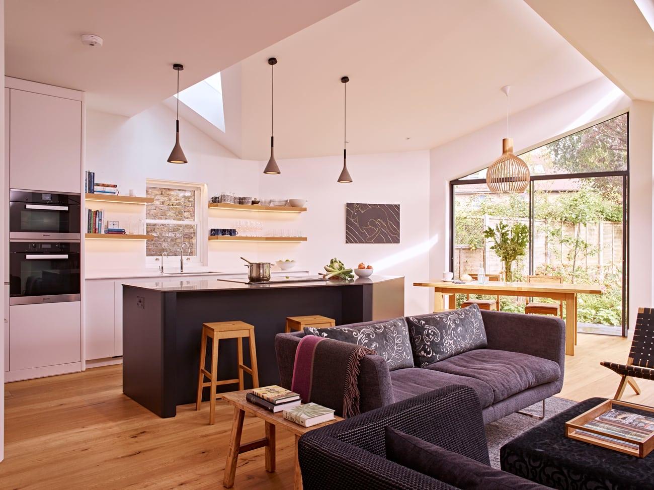 Viers open-plan kitchen extension concept