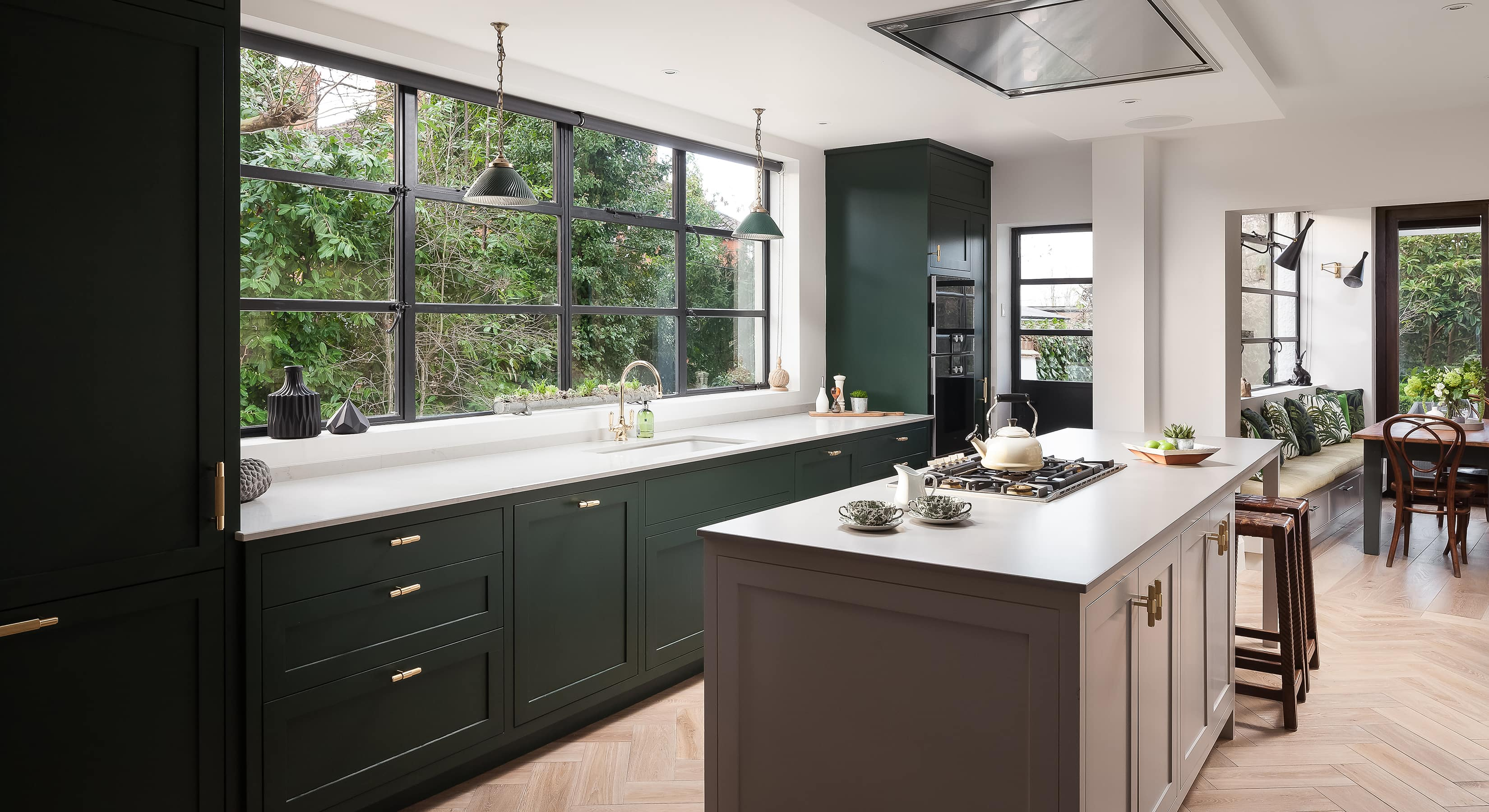 Downs style kitchen extension concept