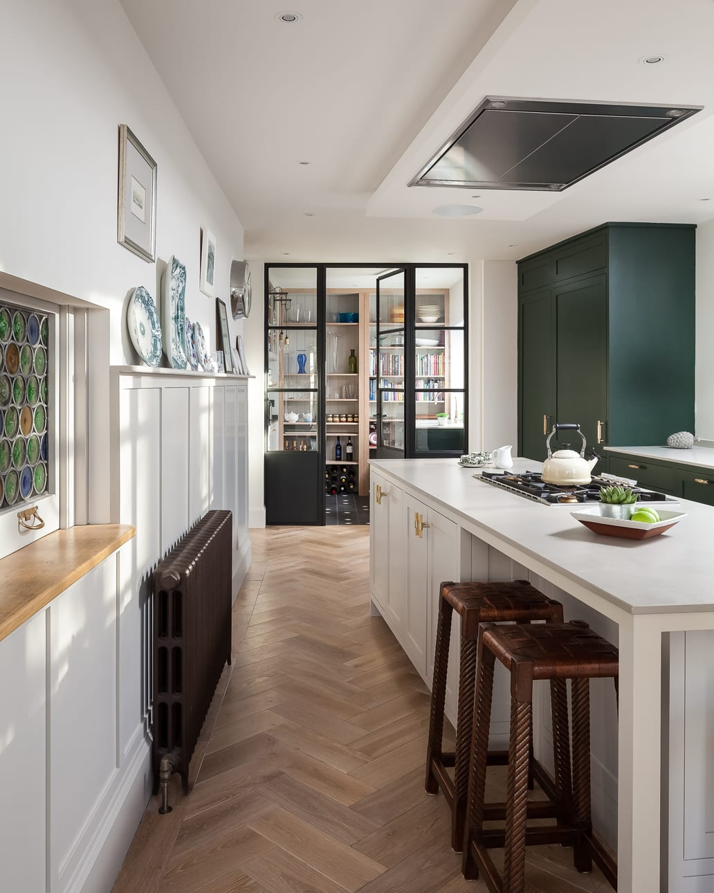 Farmhouse inspired Downs style kitchen extension concept
