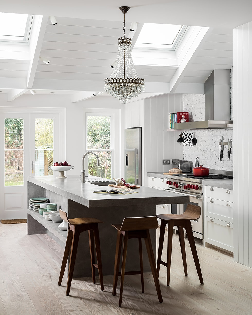 Woodlands modern kitchen extension concept